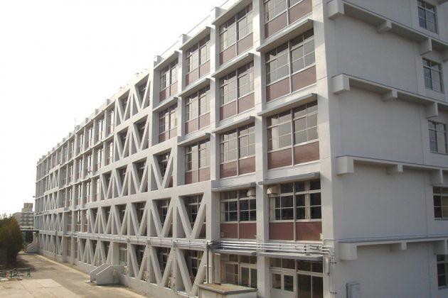 県立須磨東高等学校第一期耐震補強その他工事01