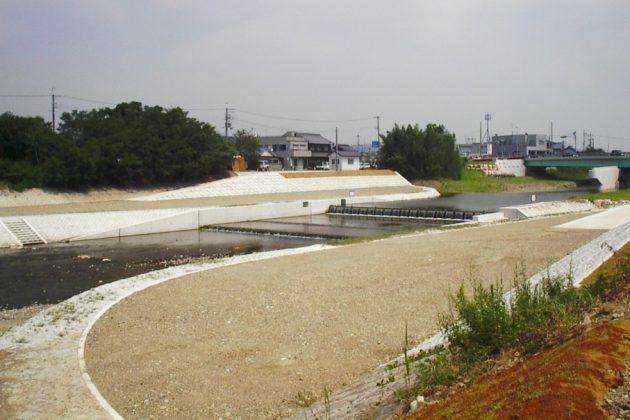 明石川護岸用水施設