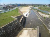 西河原地区暫定排水管設置工事