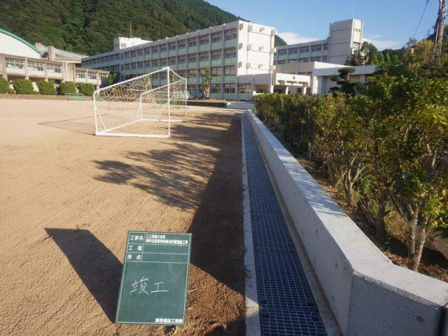 (二)武庫川水系 神戸北高等学校雨水貯留施設工事