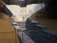 多聞寺堰堤(その2)工事